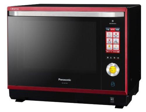 Panasonic ビストロ×ECONAVI×パナソニックスマート スチームオーブンレンジ 30L ルージュブラック NE-BS1100-RK
