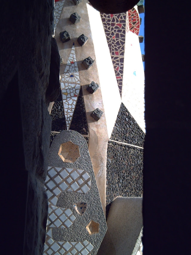 Mosaic at Sagrada Familia Spire