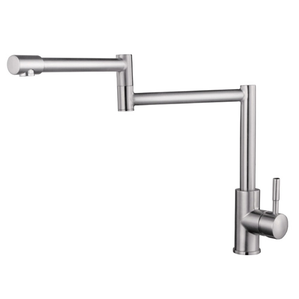 Faucet Express Solid Stainless Steel Pot Filler Kitchen Bar Sink