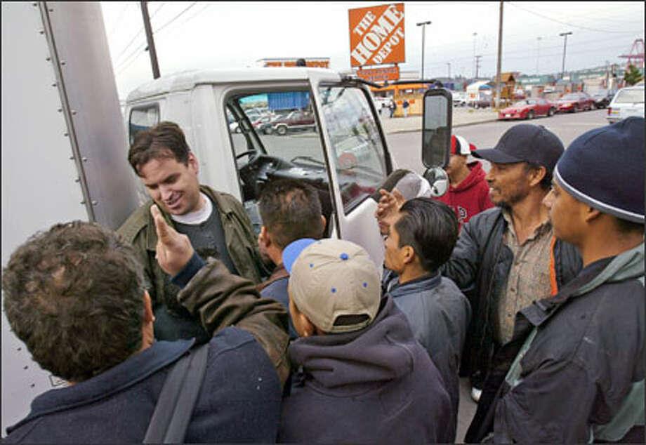 Audio: No smartphone, no problem: SoCal laborers find jobs via ...