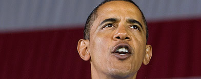U.S. President Barack Obama attends an AFL-CIO Labor Day picnic at Coney Island in Cincinnati, September 7, 2009. (Reuters)