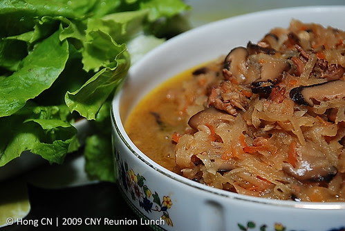 """大姨妈嫁女"" - Mixed Sliced Veges with mushroom"