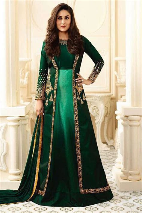 Buy Kareena Kapoor Featuring Green Color Wedding Wear