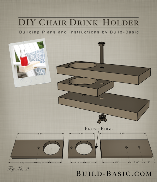 Build A Diy Chair Drink Holder Build Basic