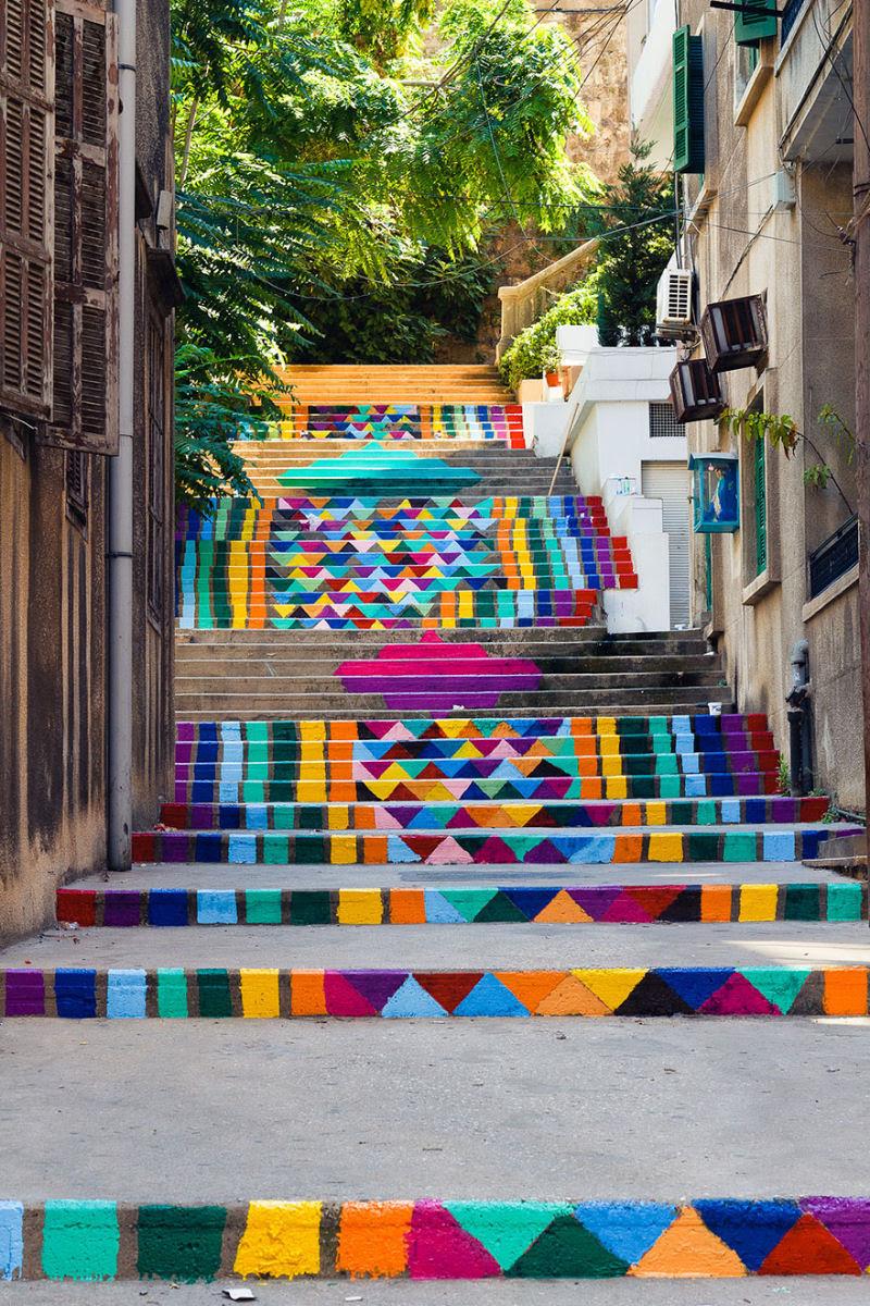 17 escadarias com as mais belas decorações urbanas do mundo 18