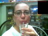 spitting my boss's cum in a glass