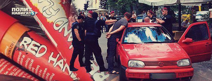 Картинки по запросу СБУ задержала в Киеве под посольством Польши 29 нацистов