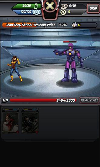 Screenshots of the X-Men: Battle of the Atom for Android tablet, phone.
