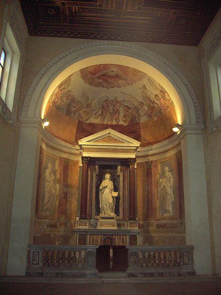 File:Celio - san Gregorio - oratorio s Silvia 1740.JPG