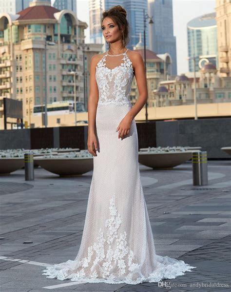 New Coming Bare Back Sexy Wedding Dresses 2019 Vestido De