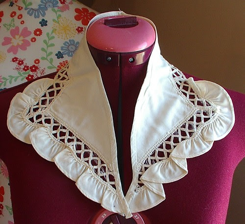 fabric collar vintage