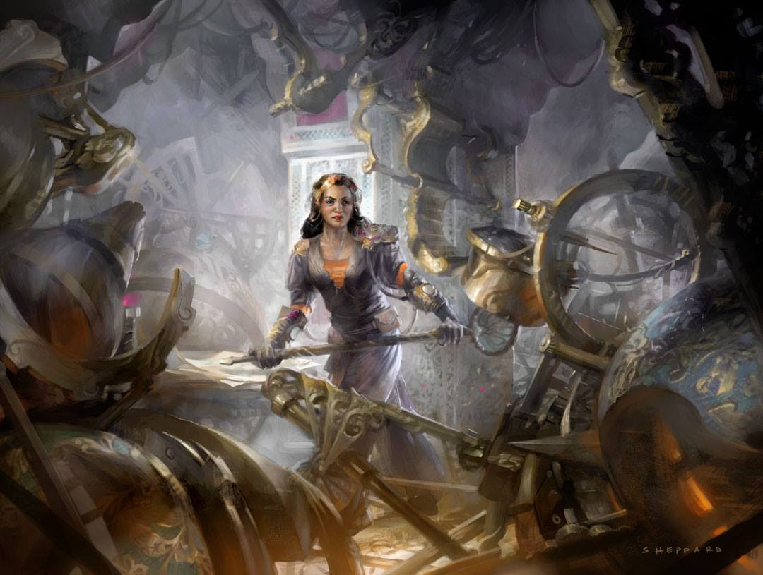 Reclusive Artificer - Magic Origins Art