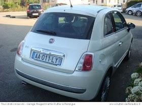Voiture Fiat 500 Occasion