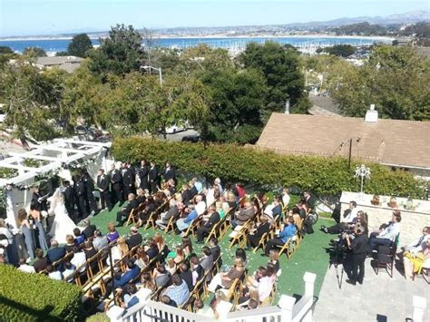 Gorgeous wedding at The Perry House, Monterey CA, http