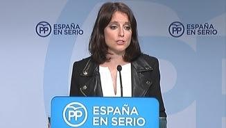 Andrea Levy ha carregat contra el PSOE i C's després del comitè de direcció del PP (EFE)