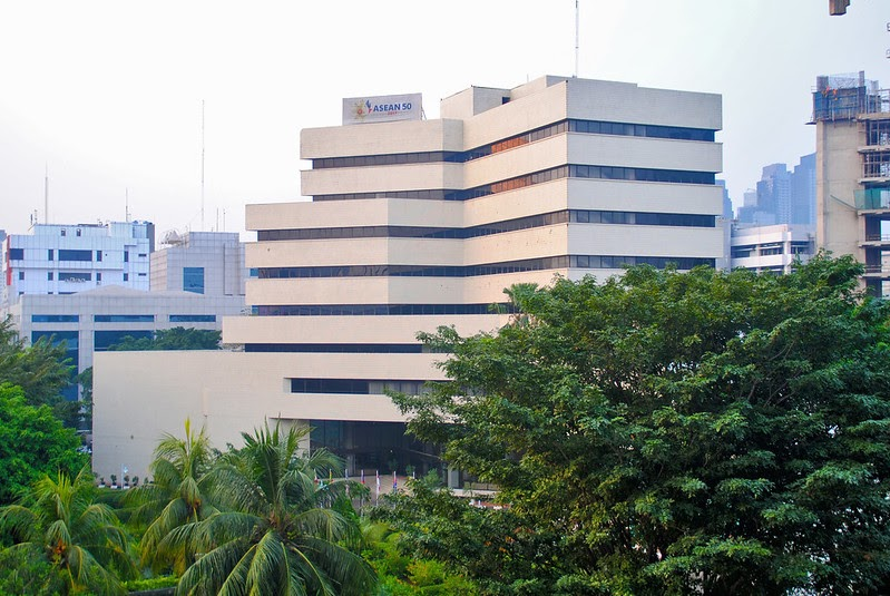 Gedung Sekretariat Asean Terbaru 5 Juni 2020 Setiap Gedung Punya Cerita