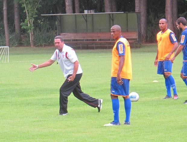 ronaldinho gaúcho flamengo treino   (Foto: Janir Junior/Globoesporte.com)