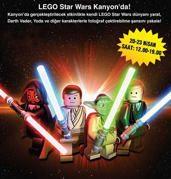 Lego Star Wars Kanyon'da