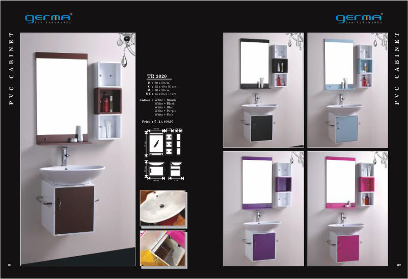 Product Catalogue Designs - GERMA Sanitarywares, Chennai. Page 16