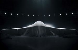 As a teaser for its Long Range Strike Bomber concept, Northrop Grumman ran a Super…