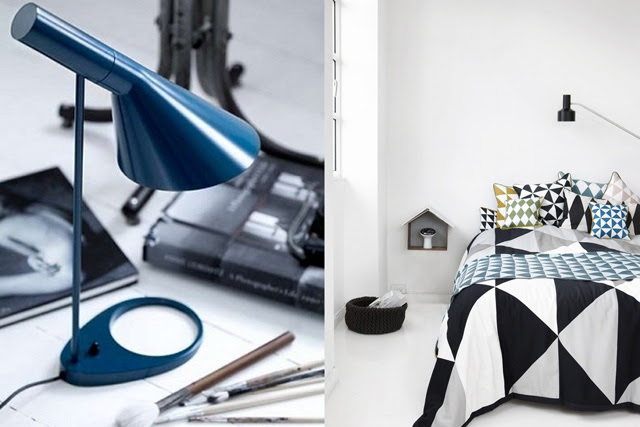 interior architecture design inspiration industrial house loft arne jacobsen egg chair lamp black and white scandinavian fashion blogger belgium turn it inside out