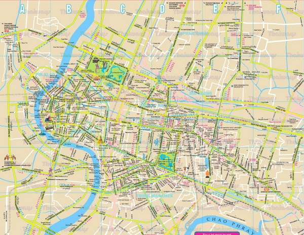 Pratunam Map - Map of Pratunam in Bangkok