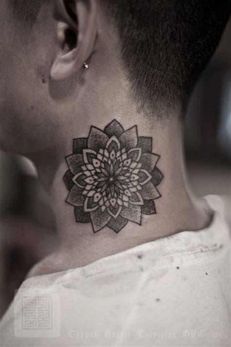 amazing lotus flower tattoos  neck