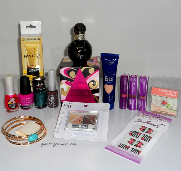 Sorteio de Aniversário - Perfume Fantasy Britney Spears + Kit de Beleza (3)