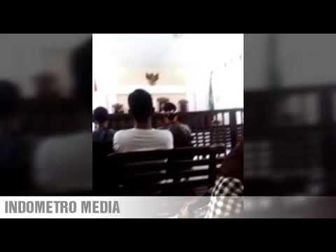 Aksi Spontan Wartawan Simalungun Di Kantor Pengadilan Negeri
