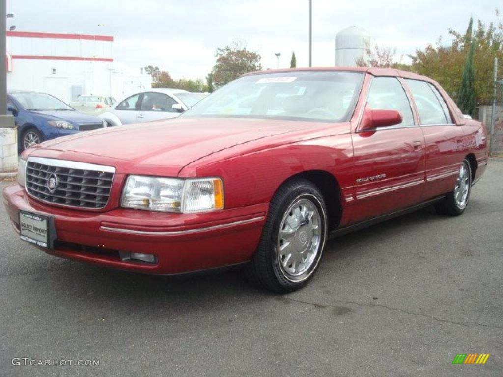 Red Pearl 1998 Cadillac DeVille Tuxedo Collection Exterior ...