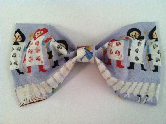 Alice In Wonderland Hair Bow