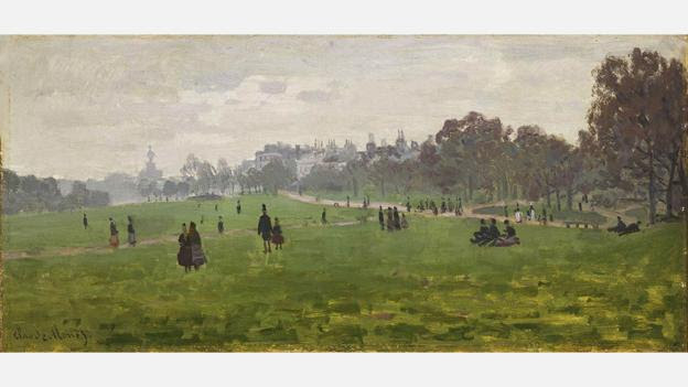 Durand-Ruel first championed Impressionism after meeting Pissaro and Monet (Credit: Green Park in London 1871/Claude Monet)