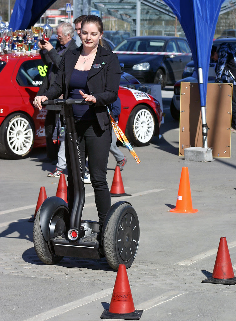 Segwaying through the cones