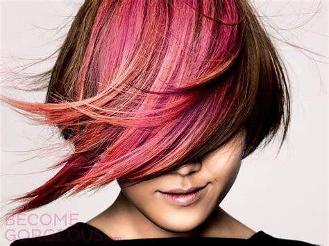 eyes  pink hair thetattooedgeisha