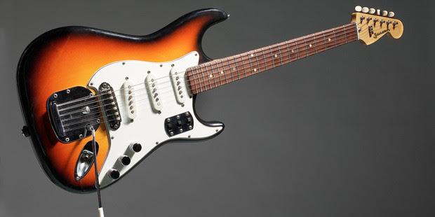 Jansen Invader electric guitar