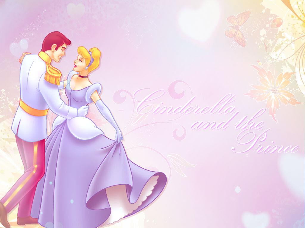 シンデレラ And Her Prince 壁紙 ディズニープリンセス 壁紙
