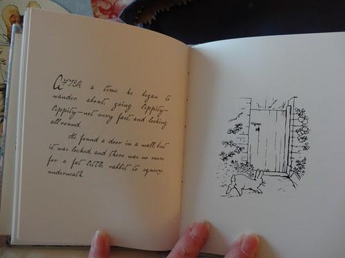 Reprint of Peter Rabbit mock-up