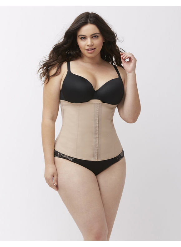 Squeem Plus Size Perfect Waist Cincher by, Women's, Size: XL, Tan