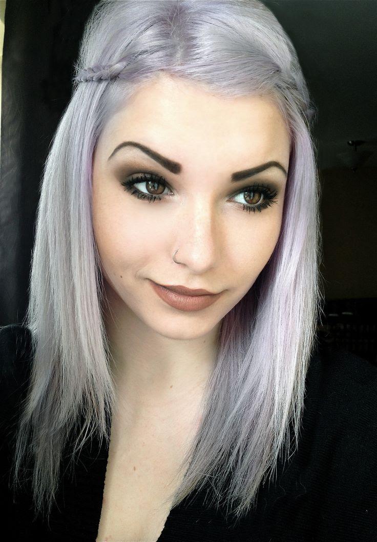 silver hair dye Arch