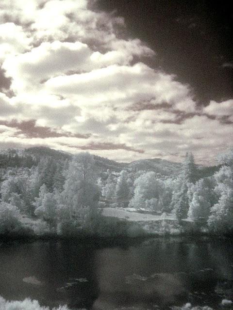 South Umpqua River, Infrared