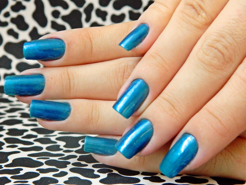 juliana leite blog unhas decoradas nail art azulcrination risque 007