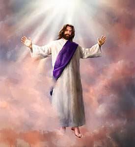 El Señor Jesús dejó la tierra con su cuerpo glorificado y resucitado y pasando por las nubes, regresó al Cielo
