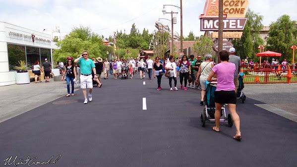 Disneyland Resort, Disney California Adventure, Cars Land, Route 66
