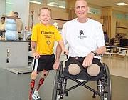 Cody con il colonnello Tim Karcher