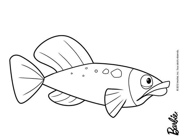 Pez Dibujos Para Colorear Dibujo Para Niños Lecturas Infantiles