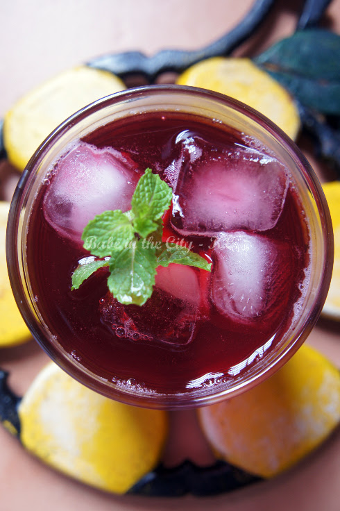 Roselle Syrup Drink