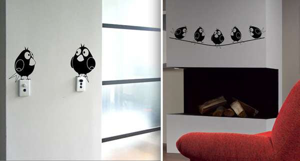 36 Hip Wall Stickers - From Origami Wall Decals to Home ...