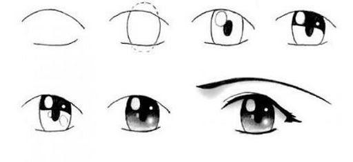 Dibujo Manga Ojos Hombre Y Mujer Anime Amino
