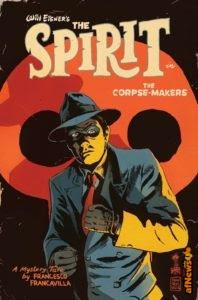 Francesco Francavilla è il nuovo autore completo dello Spirit di Will Eisner