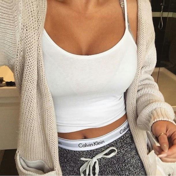 Calvin Klein Tumblr Girl